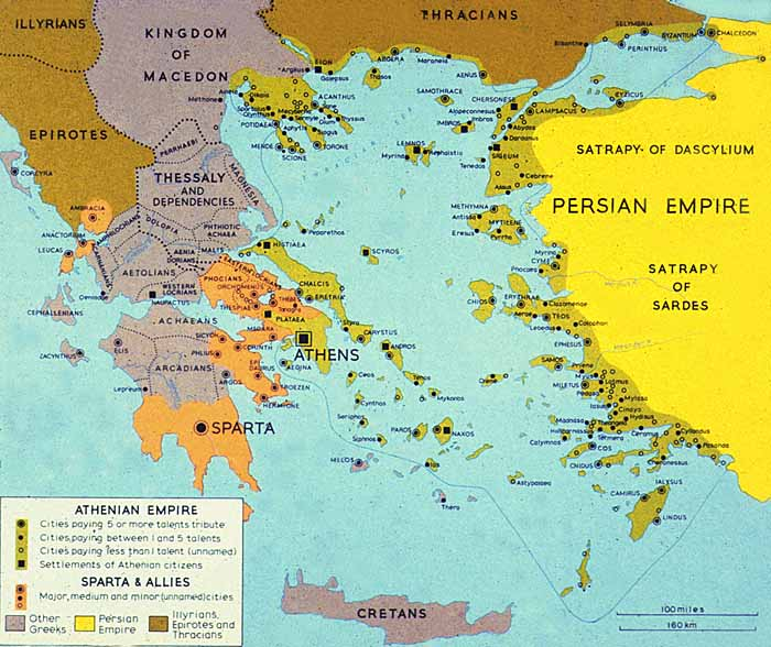 an essay on the athenian empire A major problem in this era is how and when athens managed to transform the free alliance against persia into an empire of athenian  essays on the question, and.