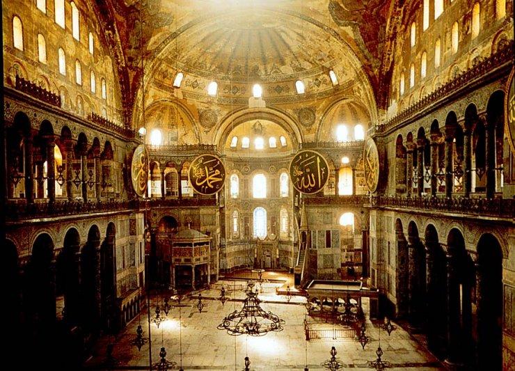 HISTORIC BUILDINGS IV – Hagia Sophia in Istanbul Between ...