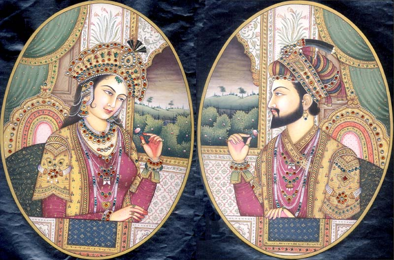 Historic Buildings X The Taj Mahal At Agra C 1650 Ad