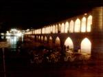 A Bridge at Isfahan By Night