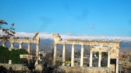 Ruins at Baalbek