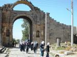 Schoolgirls at Bosra