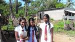 Schoolgirls at Vannivillankulam Mullaitivu district