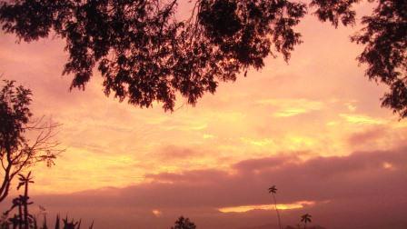 Sunrise over Aluwihare