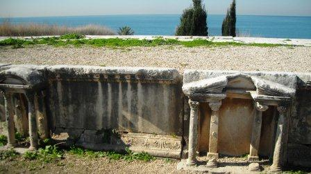 Amphitheatre and the sea at Byblos