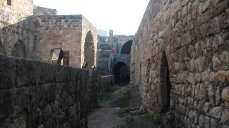 Citadel of Gil de Rais in Tripoli in Lebanon