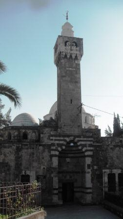 Mosque by the citadel at Tripoli