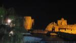 Sea castle at Sidon at night