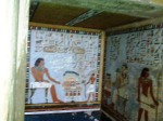 Tomb Painting in the Valley of the Kings