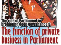 Parliamentary Democracy-Gateway to Good Governance