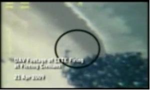 UAV footage of LTTE firing on fleeing civillians