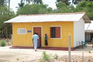 A house built by the army in a village near Kankesanthurai - Sept 2011