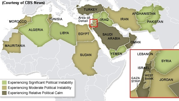 Reflections on recent changes in the Middle East and North Africa ...