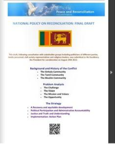 national reconciliation policy
