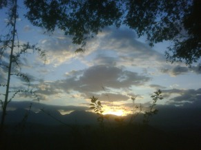 Aluwihare sunrise