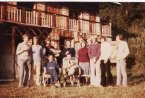 17 - Tony Firth's Farewell at the Chalet, 1976